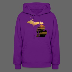 Michigan Sunset - Women's Hoodie