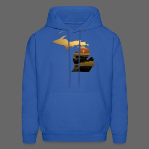 Michigan Sunset - Men's Hoodie