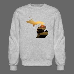 Michigan Sunset - Crewneck Sweatshirt