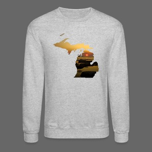 Michigan Sunset - Crewneck Sweatshirt