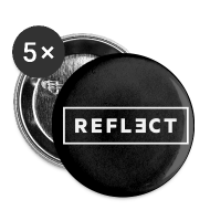 Buttons ~ Small Buttons ~ REFLECT Buttons - Black