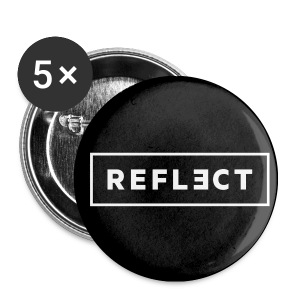 REFLECT Buttons - Black - Small Buttons