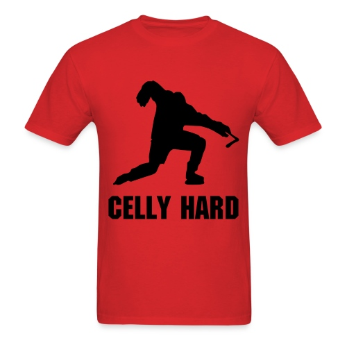 Celly Hard - Men's T-Shirt