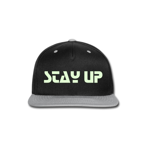 Stay UP SnapBack by TED - Snap-back Baseball Cap