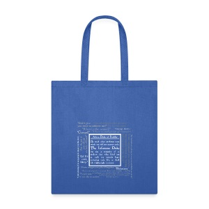 The Infamous Duke, bag - Tote Bag