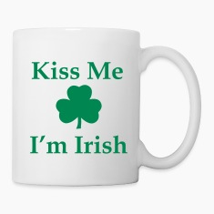 Kiss Me I'm irish Bottles & Mugs