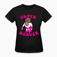 Super Beaver  Women's T-Shirts