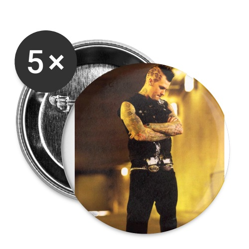 Benji Madden (Good Charlotte) 5 pack - Small Buttons