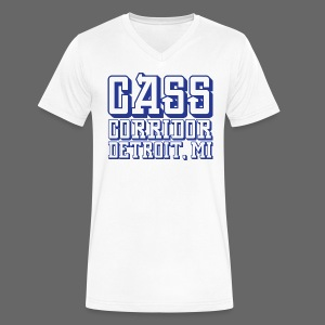 Cass Corridor Detroit - Men's V-Neck T-Shirt by Canvas