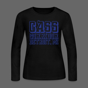 Cass Corridor Detroit - Women's Long Sleeve Jersey T-Shirt