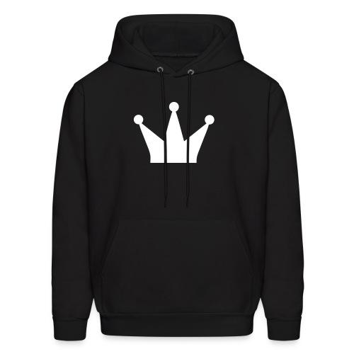 Male - King Crown  - Men's Hoodie