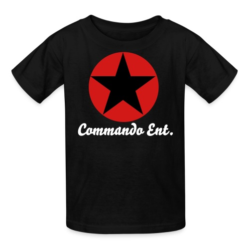 Commando Ent.(School Friendly) - Youth - Kids' T-Shirt