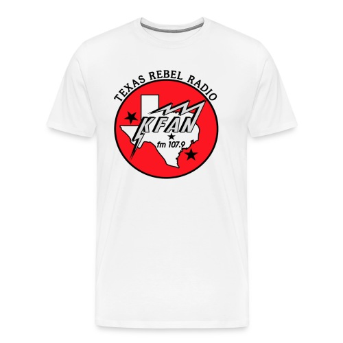 Texas Rebel Radio Shirt - Men's Premium T-Shirt
