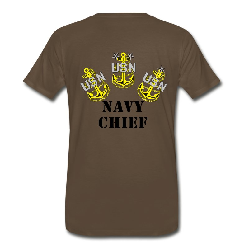 Us Navy Chief Design 1 T Shirt Spreadshirt