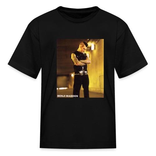 Benji Madden black shirt - Kids' T-Shirt