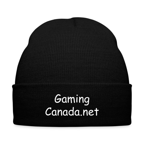Winter Hat! - Knit Cap with Cuff Print