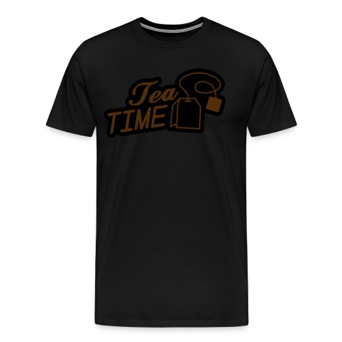 Tea Time T-Shirt - Men's Premium T-Shirt