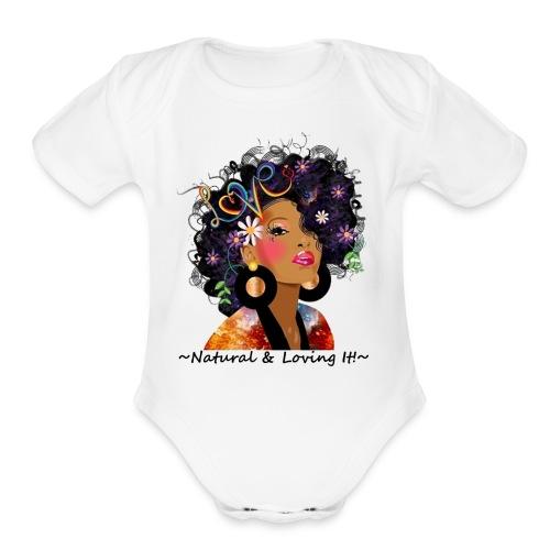 SN&LI! Baby Onsie - Organic Short Sleeve Baby Bodysuit