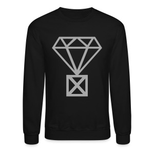 Not Married to the Game Sweater | Gray on Black - Crewneck Sweatshirt