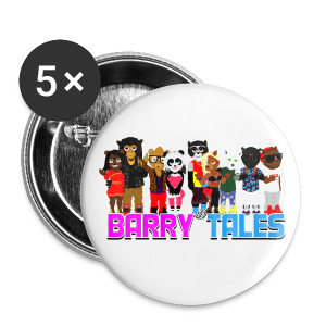Barry Tales Club Photo (Buttons) - Large Buttons