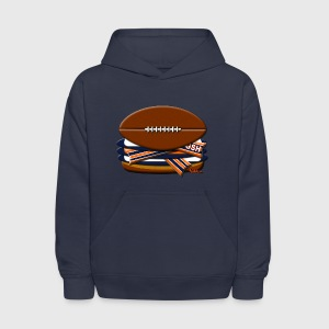 BEARcon Triple Cheeseburger Kids' Hoodie - Kids' Hoodie