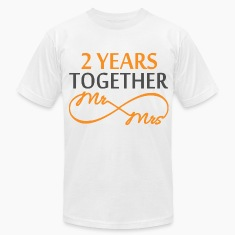 Mr & Mrs Infinite 2 Years T-Shirts