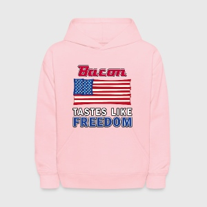 Bacon tastes like FREEDOM - kids hoodie - Kids' Hoodie