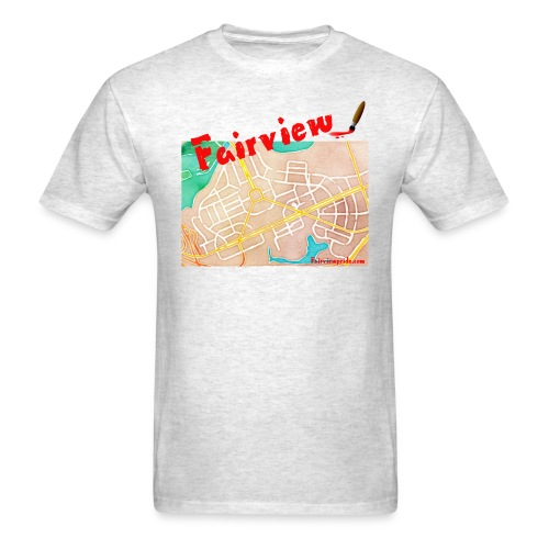 Fairview Watercolor T-Shirt - Men's T-Shirt