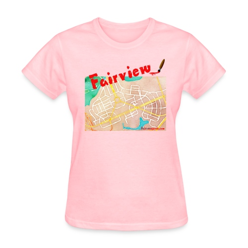 Fairview Watercolor Women's T-Shirt - Women's T-Shirt