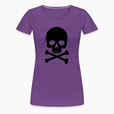 Pirate Skull - Trendy & Cool Skull Women's T-Shirts