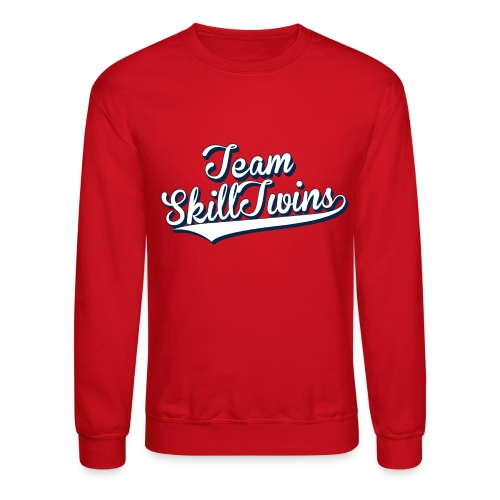 Crewneck Sweatshirt - This is the SkillTwins College Shirt - Is classy and sporty at the same time! It's fits perfect during schooldays with a pair of jeans or when you wants  to take some fresh air in the nature and play some street football.  Shoulder-to-shoulder tape & seamless collarette, the double-needle neck and bottom hem and rib sleeve cuffs make this a long-lasting product.   Hashtag your Instagram photo or Tweet us with the hashtag #SkillTwinsShop and we will check you out! // SkillTwins