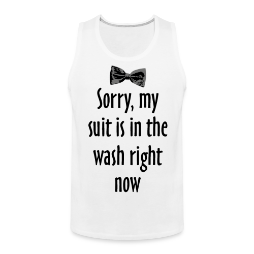 Sorry, my suit is in the wash right now