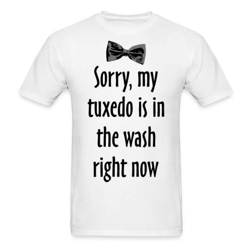 Sorry, my tuxedo is in the wash right now