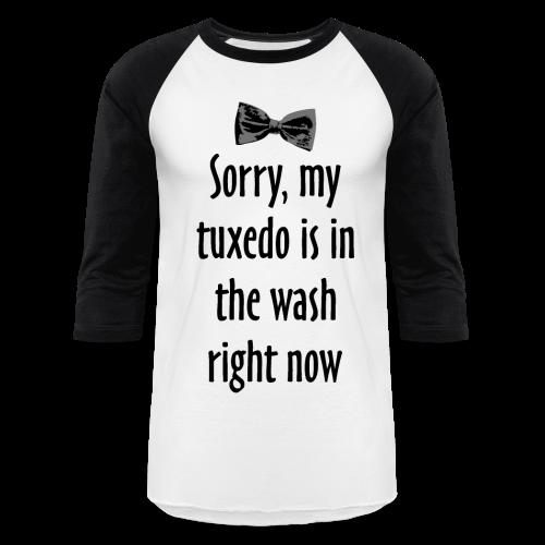 Tuxedo Wash T-Shirt (Baseball) - Baseball T-Shirt
