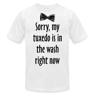Tuxedo Wash T-Shirt (AA) - Men's T-Shirt by American Apparel