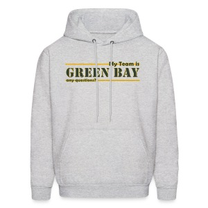 My Team Is - Men's Hoodie