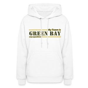 My Team Is - Women's Hoodie