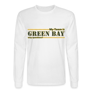 My Team Is - Men's Long Sleeve T-Shirt