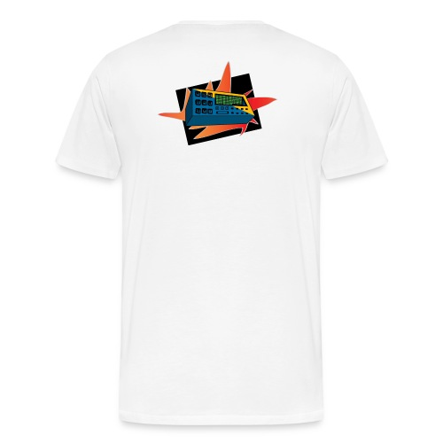 The Beat Machine - Men's Premium T-Shirt