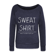 Long Sleeve Shirts ~ Women's Wideneck Sweatshirt ~