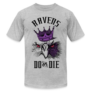 Baltimore Ravens Do or Die - Men's T-Shirt by American Apparel