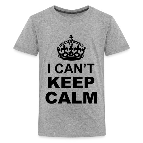 I cant keep calm t-shirt - Kids' Premium T-Shirt