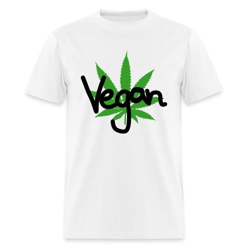 VEGAN MARIHUANA - Men's T-Shirt