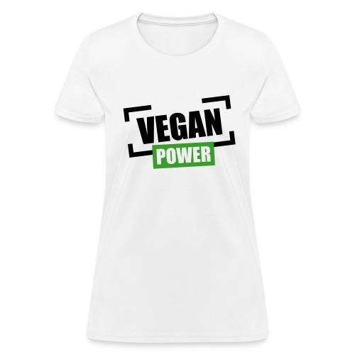 VEGAN POWER - Women's T-Shirt
