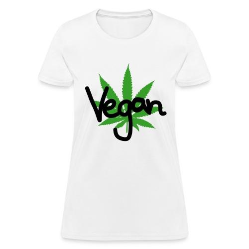 VEGAN MARIHUANA - Women's T-Shirt