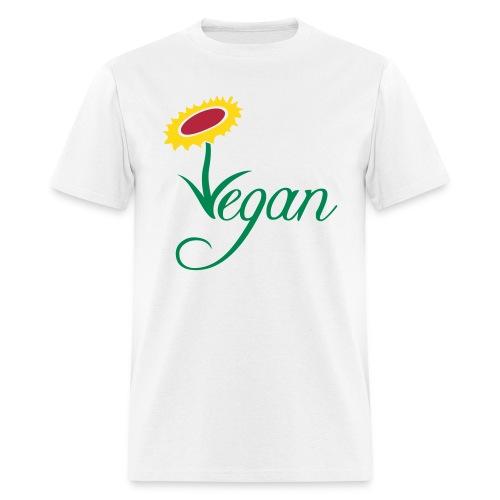 VEGAN FLOWER - Men's T-Shirt