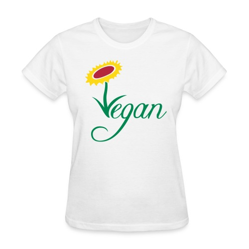 VEGAN FLOWER - Women's T-Shirt