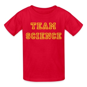 YellowIbis.com 'Varsity Evolution' Kids T-Shirt: Team Science (Red) - Kids' T-Shirt