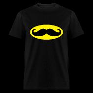 T-Shirts ~ Men's T-Shirt ~ Batstache Men's Tee