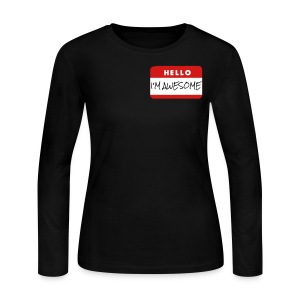 I´m awesome - Women's Long Sleeve Jersey T-Shirt